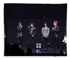 B.a.p Fleece Blanket