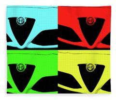 4 C Pop Fleece Blanket