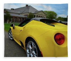 4 C Spider Fleece Blanket