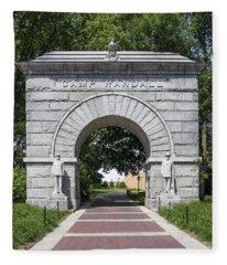 Camp Randall Memorial Arch - Madison Fleece Blanket