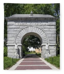 Camp Randall Memorial Arch - Madison Fleece Blanket