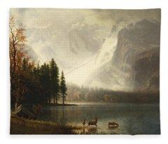 Estes Park, Colorado, Whyte's Lake Fleece Blanket