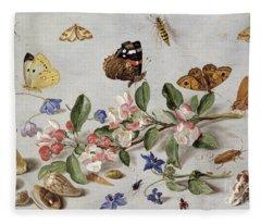 Insects Fleece Blanket
