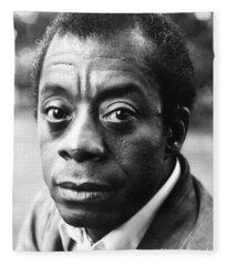 James Baldwin Fleece Blanket