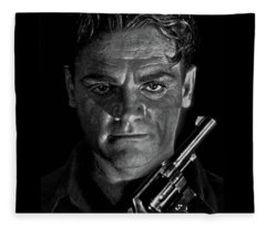 James Cagney - A Study Fleece Blanket