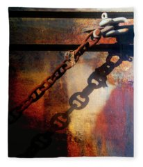 Rusty Chain Fleece Blankets