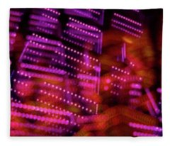 Singapore Night Urban City Light - Series - Your Singapore Fleece Blanket