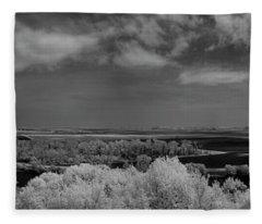 4 State Lookout Fleece Blanket