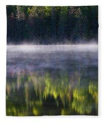 Summer Morning Fleece Blanket