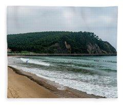 Surf Some Waves Fleece Blanket
