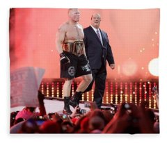 Wrestling Fleece Blanket