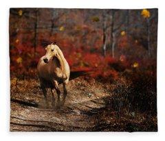 Horse Fleece Blanket