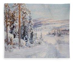 4544691  Carl Brandt   1871-1930    Landscape Fleece Blanket
