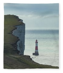 Beachy Head - England Fleece Blanket