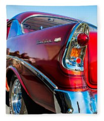 56 Chevy Bel Air Fleece Blanket