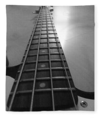 Guitar Fleece Blanket