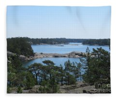 In Stendorren Nature Reserve Fleece Blanket