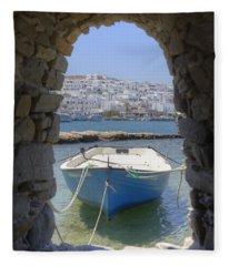 Paros - Cyclades - Greece Fleece Blanket
