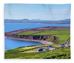 Ring Of Kerry - Ireland Fleece Blanket