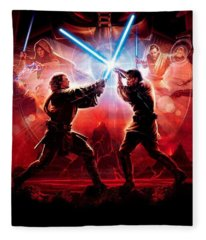 Star Wars Episode IIi - Revenge Of The Sith 2005 Fleece Blanket