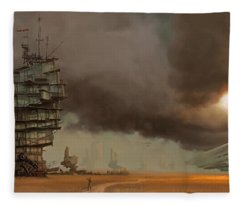 Steampunk Fleece Blankets