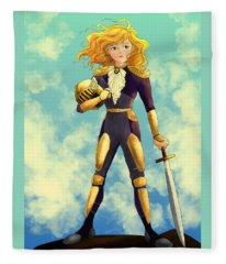 Tammy Wurtherington Freedom Fighter Fleece Blanket