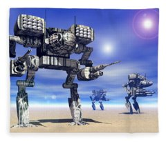 501st Mech Trinary Fleece Blanket
