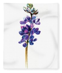 5x7auto Lupine Fleece Blanket