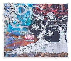 Freak Alley Boise Fleece Blanket