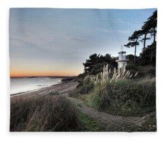 Lepe - England Fleece Blanket