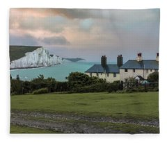 Seven Sisters - England Fleece Blanket