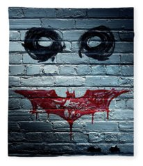The Dark Knight 2008  Fleece Blanket