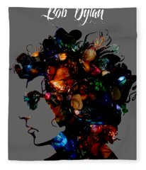Bob Dylan Collection Fleece Blanket