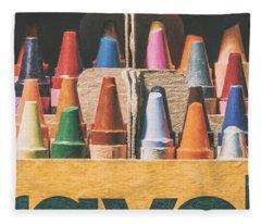 64 Colors Fleece Blanket