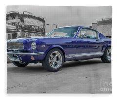 65' Mustang Fleece Blanket