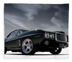 69 Pontiac Firebird Fleece Blanket