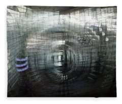 Fleece Blanket featuring the photograph 7 6   7 6   7 6 by Alex Lapidus