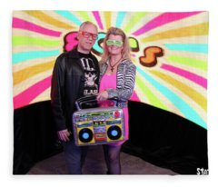 80's Dance Party At Sterling Events Center Fleece Blanket