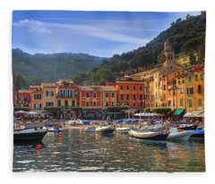 Portofino Fleece Blanket