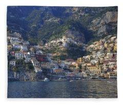 Positano - Amalfi Coast Fleece Blanket