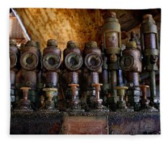 Steampunk Fleece Blanket