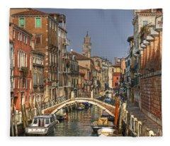 Venice - Italy Fleece Blanket