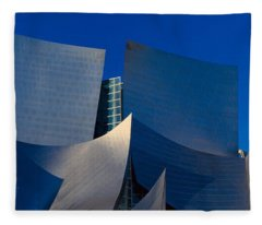 Walt Disney Concert Hall, Los Angeles Fleece Blanket