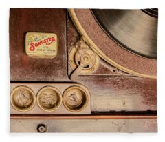 78 Rpm And Accessories Fleece Blanket