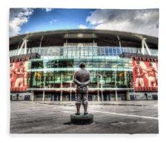 Arsenal Fc Emirates Stadium London Fleece Blanket