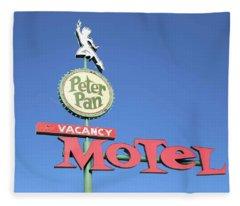 Remnants Of Vintage Vegas Fleece Blanket