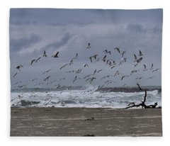 The Lost Coast Fleece Blanket