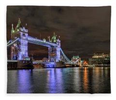 North London Fleece Blankets