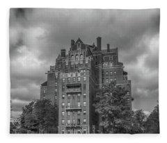 800 West Ferry Apartments #8811 Fleece Blanket