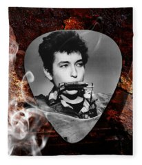 Bob Dylan Art Fleece Blanket